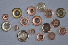 Metal düğme