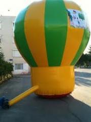 Şişme yer balonu