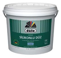 Silosan silikonlu düz boya