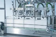 Otomatik 4lü  lineer dolum makinesi