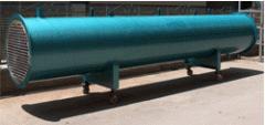 Kondanser (su soğutmalı shell & tube)