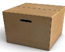 Çift dalga oluklu mukavva kutu