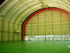 Spor salonu çadırları