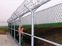 Boru direk ile tel çit uygulaması