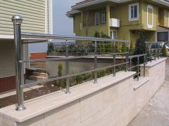 Fransız balkon_ parapet ve özürlü rampası