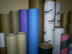 Cylinder sleeves made of paper