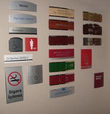 Güvenlik tabelaları