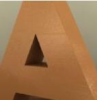 Bronz satine paslanmaz harfler