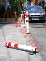 Clamps for parking places