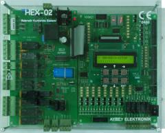 Kumanda kartları HEX serisi