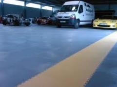 Traficline karo PVC zemin kaplaması
