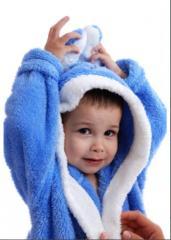 Les robes de chambre   d'enfant