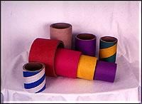 Bushings made of pasteboard