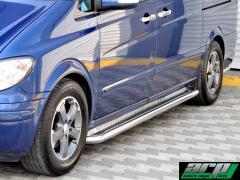 Mercedes Vito - Chrome Side steps