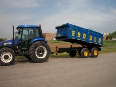 Traktör römork