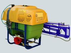 Tarla traktör arkası ilaçlama makinası
