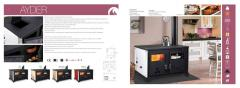 Furnaces household with system of water heating