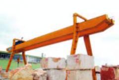 Heavy traveling-bridge cranes