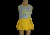 Kız çocuk alttan çıtçıtlı balon elbise