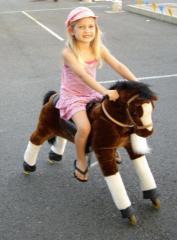 Çocukların bineceği oyuncak at