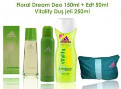 Kadın kozmetik seti  Adidas Floral Dream