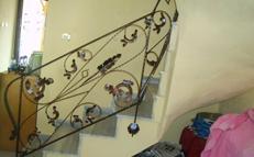Ferforje merdiven korkulukları