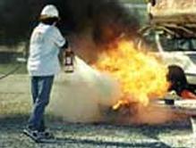 Tekerlekli ve elle taşınabilir yangın söndürme