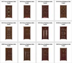 Lüks kabartma kapıları