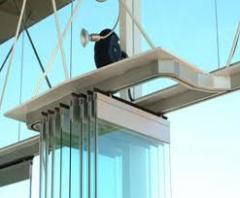 Glazing of balconies loggias