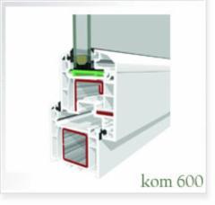 Satın almak Pvc pencere sistemleri Kom-600