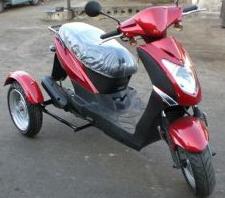 3 tekerli motorsiklet