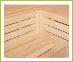 Sauna ahşap mamulleri