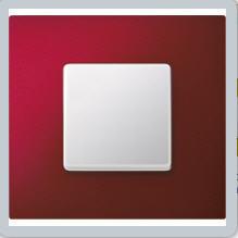 Metalik Kırmızı Anahtar