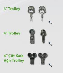 Konveyör trolley üniteleri