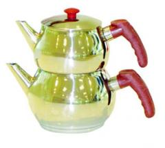 Gazalli Mini Küre Çaydanlık