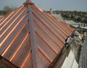 Bakır çatı kaplama sistemi