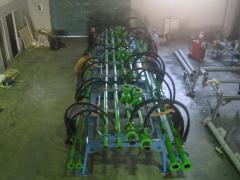Rolling spline machine