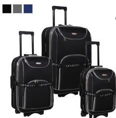 3'lü Valiz Set 2 Tekerlekli