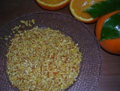 Kuru portakal kabuğu