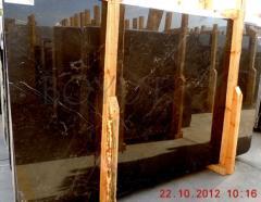 Prestige brown marble slabs