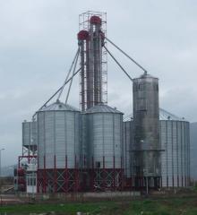 Sürekli Akışkan Kule Tipi Tahıl Kurutma