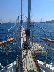 Yachts with sails