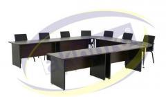 Laminat Toplantı (U) Topnaltı Masası