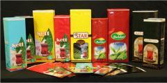 Packaging for tea
