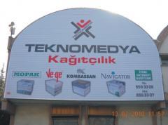 Çatı Reklamları