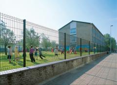 Panel çit sistemleri.