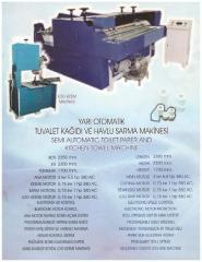 Yarı Otomatik Tuvalet Kağıdı ve Havlu Makinesi