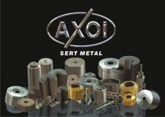 Metal dovme sekilendirme Tungsten