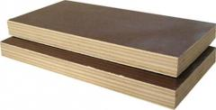 Wooden building boards