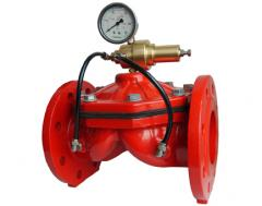 Valves  for fire-fighting